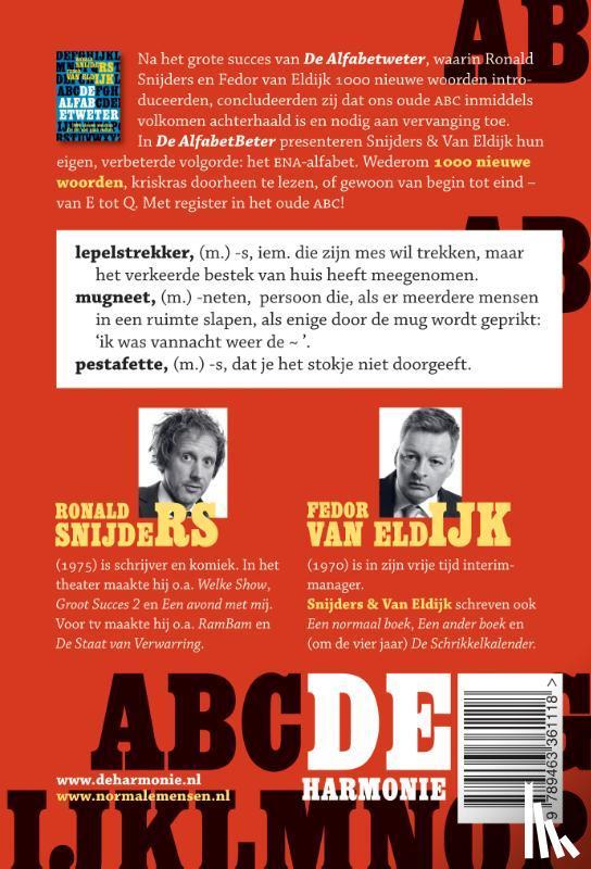 Snijders, Ronald, Eldijk, Fedor van - De AlfabetBeter