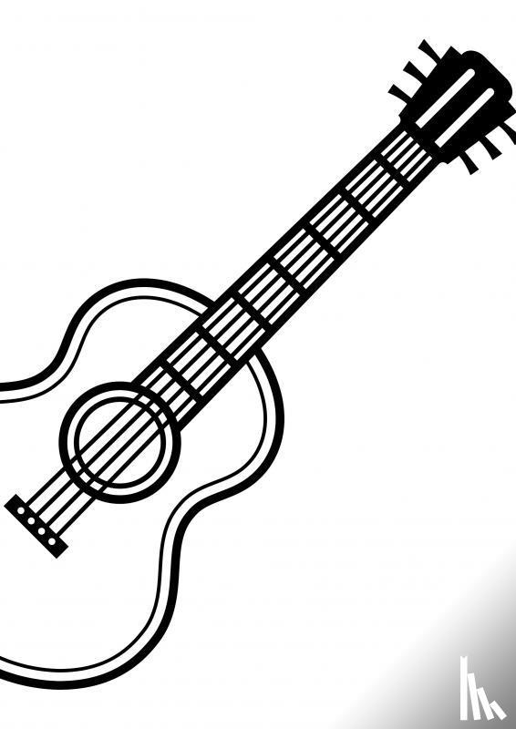 Comfort, Allets - Gitaarakkoorden- Gitaartabs Notenschrift- Bladmuziek (A4) Solo Guitar ZW- Allets Comfort