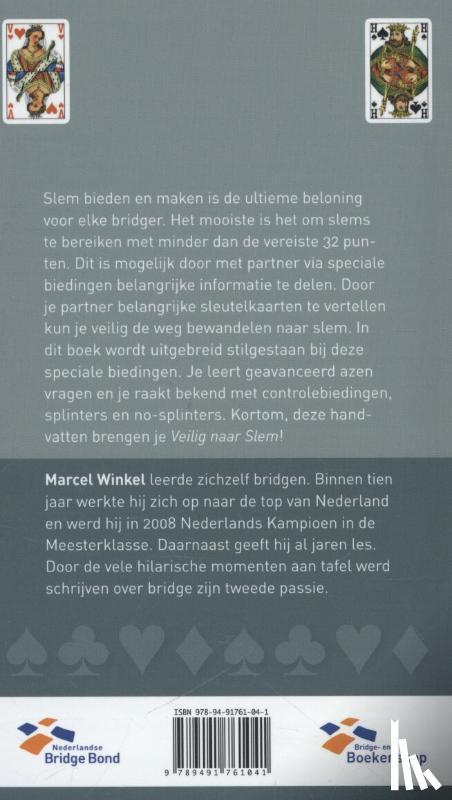 Winkel, Marcel - Veilig naar Slem. Azen vragen, Splinters & Controles