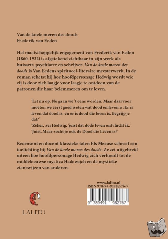 Van Eeden, Frederik - Van de koele meren des doods