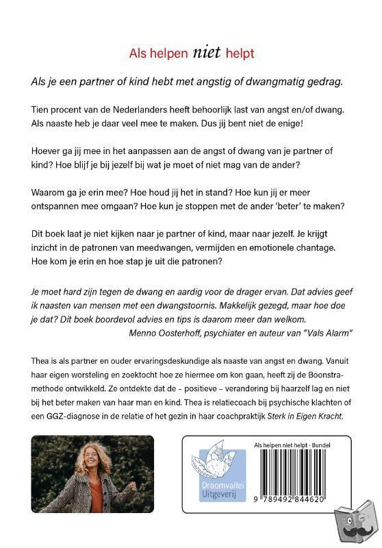 Bodegraven-Boonstra, Thea van - Als helpen niet helpt