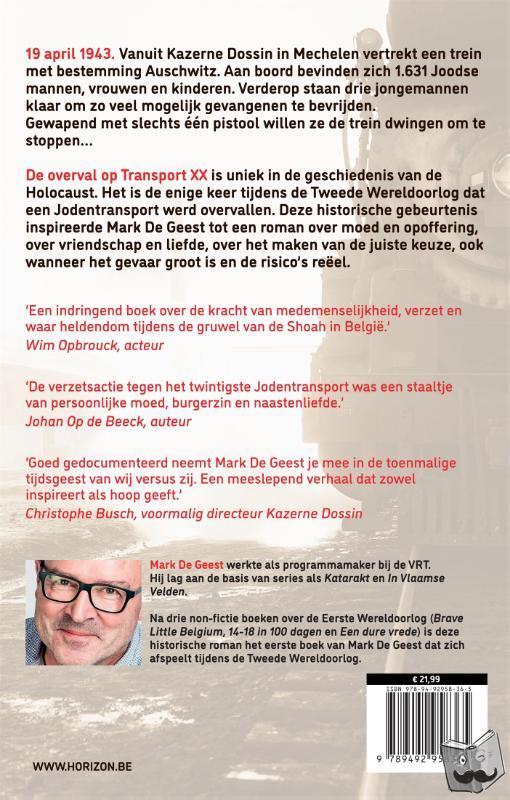 Geest, Mark De - Transport XX. Bestemming Auschwitz