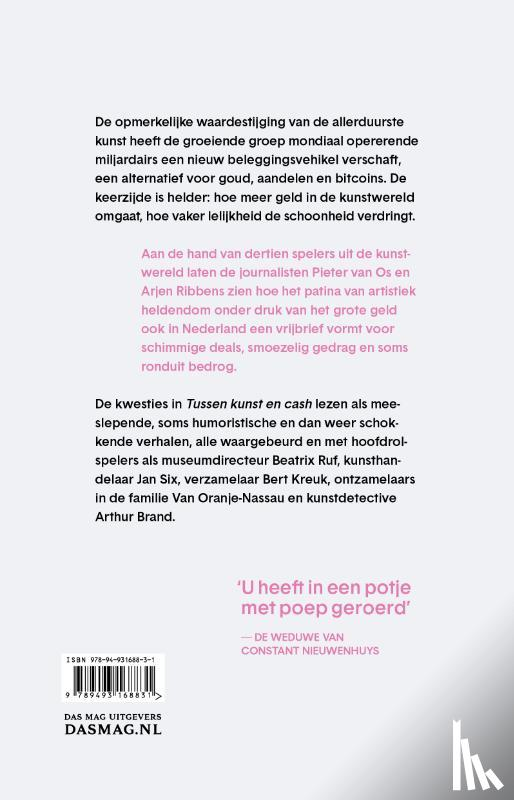 Os, Pieter van, Ribbens, Arjen - Tussen kunst en cash