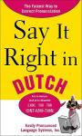 Peters, Clyde - Say It Right in Dutch