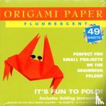 Tuttle Publishing - Origami Paper Fluorescent