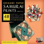 """Tuttle Publishing - Origami Paper - Samurai Prints - Large 8 1/4"""" - 48 Sheets"""