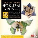 "Tuttle Publishing - Origami Paper - Hokusai Prints - Large 8 1/4"" - 48 Sheets"