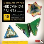 "Tuttle Publishing - Origami Paper - Hiroshige Prints - Small 6 3/4"" - 48 Sheets"