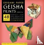 "Tuttle Publishing - Origami Paper - Geisha Prints - Large 8 1/4"" - 48 Sheets"