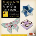 """Tuttle Publishing - Origami Paper- Cherry Blossom Patterns Large 8 1/4"""" 48 sh"""
