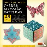 """Tuttle Publishing - Origami Paper- Cherry Blossom Prints- Small 6 3/4"""" 48 sheets"""