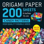 Tuttle Publishing - Origami Paper 200 sheets Candy Patterns 6 (15 cm)
