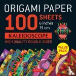 """Tuttle Publishing - Origami Paper 100 sheets Kaleidoscope 6"""" (15 cm)"""