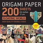"Tuttle Publishing - Origami Paper 200 sheets Floating World 6 3/4"" (17 cm)"