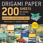 """Tuttle Publishing - Origami Paper 200 sheets Japanese Woodblock Prints 8 1/4"""""""