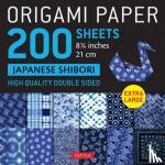"""Tuttle Publishing - Origami Paper 200 sheets Japanese Shibori 8 1/4"""" (21 cm)"""