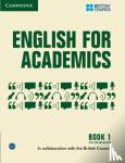 Council, British - English for Academics 1 Book with Online Audio