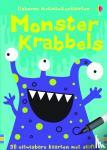 - Monster Krabbels Activiteitenkaarten, alleen per set van 3ex