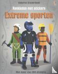 - Aankleden met stickers - Extreme sporten