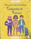 - Grote mode stickerboek - vakantie en reizen