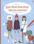 - Grote mode stickerboek - zelf mode ontwerpen wintercollectie