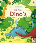 - Flip flap dino's