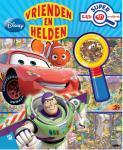 - Disney Pixar Vrienden en Helden super kijk- en zoekboek met vergrootglas