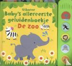- Baby's allereerste geluidenboekje De zoo