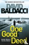 Baldacci, David - One Good Deed