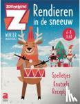 - Winterboek: Rendieren in de sneeuw