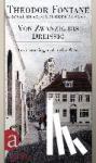 Fontane, Theodor - Das autobiographische Werk 01. Von Zwanzig bis Dreißig