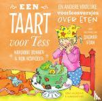 Busser, Marianne, Schröder, Ron - Een taart voor Tess en andere vrolijke voorleesversjes over eten