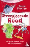 Menten, Tosca - Streepjescode Rood