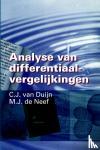 Duijn, C.J. van, Neef, M.J. de - Analyse van differentiaalvergelijkingen