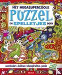 Regan, Lisa - Het megasupercoole puzzel- en spelletjesboek