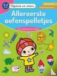 ZNU - Oefenboek met stickers - Allereerste oefenspelletjes (3-4 j.)