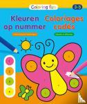 ZNU - Kleuren op nummer (3-5 j.) / Coloriages codés (3-5 a.)