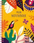 ZNU - Mijn notitieboek (tropical yellow)