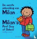 Amant, Kathleen - De eerste schooldag van Milan - Milan's first day at school