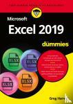 Harvey, Greg - Microsoft Excel 2019 voor Dummies