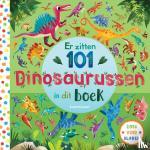 Jones, Rebecca - Er zitten 101 dinosaurussen in dit boek