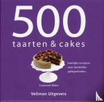 Blake, Susannah, TextCase - 500 taarten & cakes