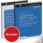 Studio Visual Steps - Cursusboek MOS Outlook 2016 en 2013 + extra oefeningen