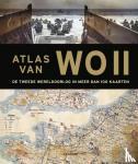 Overy, Richard, Snow, Peter - Atlas van WOII - De Tweede Wereldoorlog in meer dan 100 kaarten