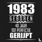 Gastenboeken, Albaspirit - 1981 Geboren 40 Jaar Tot Perfectie Gerijpt