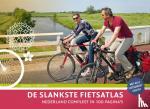Eberhardt, J.F.G. - De slankste fietsatlas van Nederland