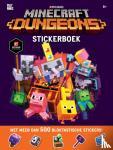 - Minecraft - Dungeons Stickerboek
