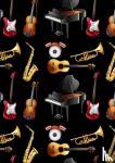 Comfort, Allets - Gitaarakkoorden- Gitaartabs Notenschrift- Bladmuziek (A4) Colorful Instrument- Allets Comfort
