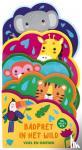 ImageBooks Factory - Voel & ontdek Met glitter en vilt - Badpret in het Wild