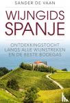 Vaan, Sander de - Wijngids Spanje